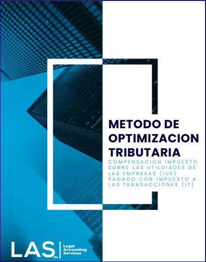 Compensación Tributaria (IUE con IT)